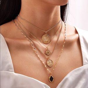 3/$30 💛 Boho Multi Layered Necklace
